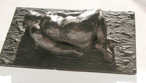 RECLINING NUDE by richards poey