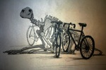 THE PALEO-OSTEOLOGICAL BIKE RACK