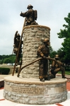 THE ILLINOIS STATE FIREFIGHTERS MEMORIAL