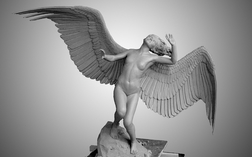 WINGED FIGURE by greg picard